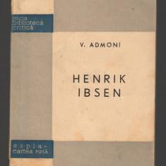 (C8046) HENRIK IBSEN DE V. ADMONI - Biografie