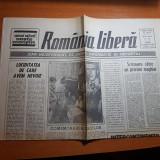 Ziarul romania libera 23 martie 1990-conflictul din targu mures - octavian paler