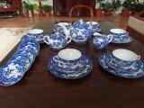 Serviciu Cafea/Ceai/Desert Portelan Japonez Prunus