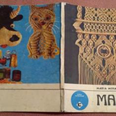 Macrameuri - Maria Mihaela Orhidan, Alta editura