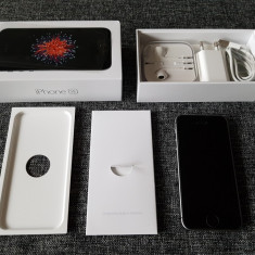 Iphone 5 SE 32GB Spacegrey Codat Vodafone Nou - Telefon iPhone Apple, Gri
