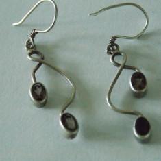 Cercei argint cu zirconii -1616