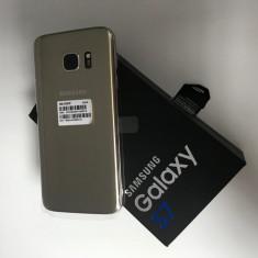 Samsung Galaxy S7 Gold 32GB NOU, Factura & Garantie 12 Luni! - Telefon Samsung, Auriu, Neblocat, Single SIM
