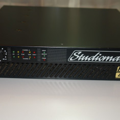 Amplificator profesional Studiomaster 1200d AMCS  2 X 750W, peste 200W