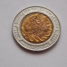 500 LIRE SAN MARINO 1992 -COMEMORATIVA-UNC, Europa