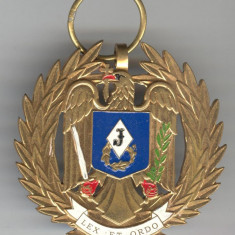 Insigna Militara - EMBLEMA de ONOARE a JANDARMERIEI ROMANE - Rara