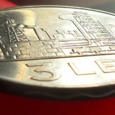 Moneda 3 Lei - RS ROMANIA, anul 1966 *cod 3642 = Perfect UNC! - Moneda Romania