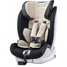 Scaun auto cu Isofix Caretero VolanteFix Beige - Grupa 9-36 kg - Scaun auto copii Caretero, 1-2-3 (9-36 kg)