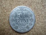 ROMANIA  - 50 BANI 1884 , Ag835  PLUS CADOU 100 LEI 1938 DEMONETIZATA , L 2.39