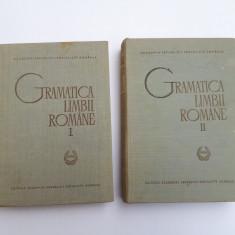 GRAMATICA LIMBII ROMANE = 2 volume an 1966 = Editura Academiei - Culegere Romana