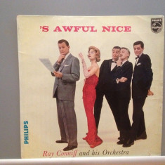 RAY CONNIFF & Orchestra - 'S AWFUL NICE (1961/PHILIPS/HOLLAND) - Vinil/Analog - Muzica Pop