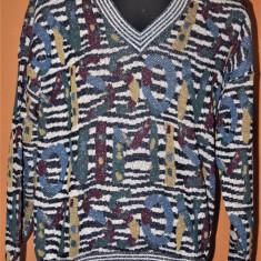 Pulover vintage Missoni original - Pulover barbati, Marime: L/XL, Culoare: Multicolor, Anchior