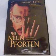 noua porti - johnny deep - polanski -dvd