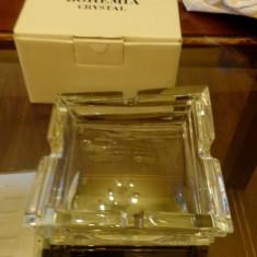 SCRUMIERA CRISTAL BOEMIA - Scrumiera sticla