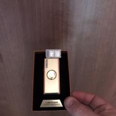 Fidget Spinner bricheta metal USB / iluminat / Modele deosebite /Cutie /Gama lux
