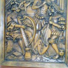 Sculptură tridimensională în ceară (tablou)