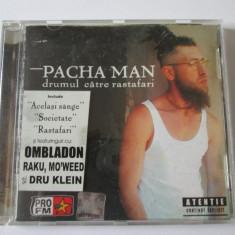Rar! CD Hip Hop Pacha Man albumul drumul catre Rastafari 2003, nova music