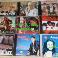 CD Arsinel, Boney M, Fuego, Gh Iovu, N Nitescu, Angela Similea, Rock Ballads 15 bucata
