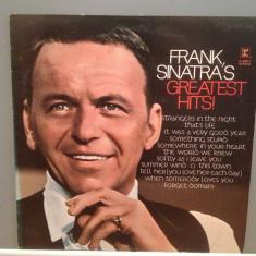 FRANK SINATRA - GREATEST HITS (1971/REPRISE/UK) - Vinil/Analog/Impecabil (NM-) - Muzica Rock warner