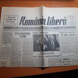 """ziarul romania libera 11 septembrie 1990-articolul """" si totusi minerii """""""