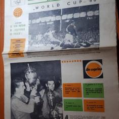 Ziarul fotbal 21 iulie 1966-steaua castiga cupa romaniei, camionatul mondial