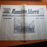 ziarul romania libera 24 martie 1990-nu tulburati lumina eroilor nostri