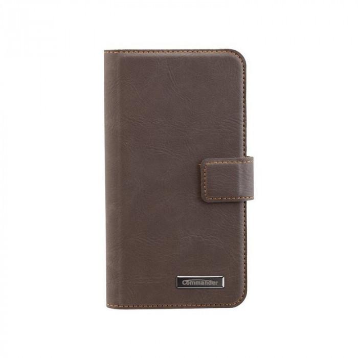 Bookstyle Case pentru Samsung Galaxy S7 Culoare Maro foto mare