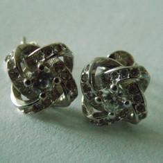 Cercei argint cu zirconii -1640