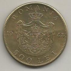 ROMANIA MIHAI I 500 LEI 1945 [18] XF, livrare in cartonas - Moneda Romania, Cupru-Nichel
