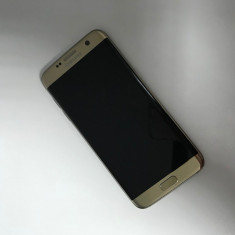 Samsung GALAXY S7 Edge, 32GB, GOLD, Factura & Garantie - Telefon Samsung, Auriu, Neblocat, Single SIM