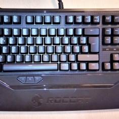 Tastatura GAMING iluminata culoare albastru Roccat Ryos MK Pro USB ROC-12-850BN - Tastatura PC Roccat, Cu fir, Tastatura iluminata