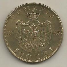 ROMANIA MIHAI I 500 LEI 1945 [16] XF+, livrare in cartonas - Moneda Romania, Cupru-Nichel