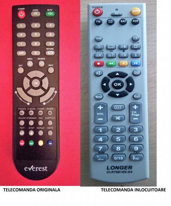 Telecomanda EVEREST LEDE-32M4E3 SERRENO LEDSER-32M4E3 VORTEX LEDV-32M4E3