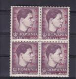 ROMANIA  1947   LP 220    BLOC DE 4 TIMBRE   MNH