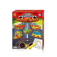 Set creatie pentru pictura Orange Elephant, Crazy cars