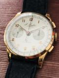Ceas aur 18k raritate cronograf transport zero