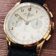 Ceas aur 18k raritate cronograf - Ceas de mana