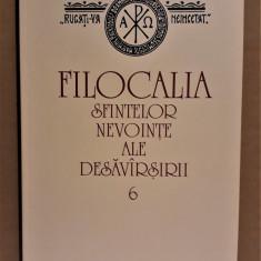 FILOCALIA VOL. 6 - SF. SIMEON NOUL TEOLOG, CUVIOSUL NICHITA STITHATUL - Carti ortodoxe