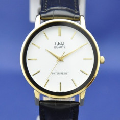 Ceas barbatesc Q&Q Elegant Q850J101Y Auriu