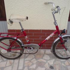 Bicicleta pliabila DHS PEGAS, 20 inch, Numar viteze: 1