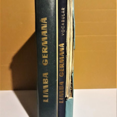 JEAN LIVESCU, EMILIA SAVIN - LIMBA GERMANA, CURS + VOCABULAR + DISCURI [1966] - Curs Limba Germana