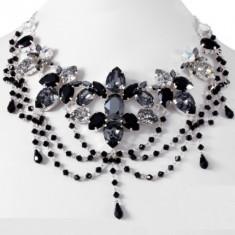 Gothic Storm Necklace de lux cu cristale swarovski - Colier Swarovski