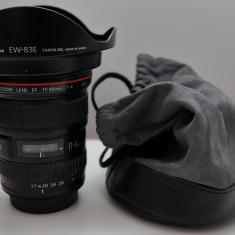 Obiectiv Canon EF 17-40mm f/4L USM - Obiectiv DSLR