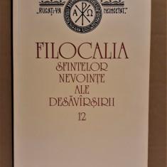 FILOCALIA VOL. 12 - ISAIA PUSTNICUL [2009] - Carti ortodoxe