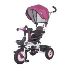 Tricicleta multifunctionala MamaLove Rider Violet - Tricicleta copii