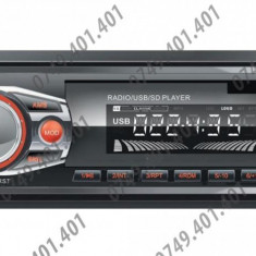 Radio Player Auto Zappin 6449 Bluetooth FM, MP3, SD, USB, AUX, 4x50W, 4xRCA - CD Player MP3 auto