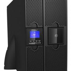 UPS Mustek 10000VA/ 9000W; PowerMust 10900 online LCD RM - display LCD; terminal block 8 prize IEC; incarcare 3 ore; acumulator 12V/ 9Ah x 20pcs;...