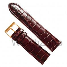 Curea Ceas Maro Inchis NAGATA 22mm