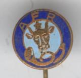 Insigna AFR - Asociatia Filatelistilor din Romania, anii 1970's