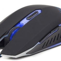 MOUSE Gembird USB gaming, 2400 dpi, blue, Peste 2000